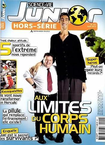 Science Et Vie Junior Hors Serie - science & vie junior hors-série; aux limites