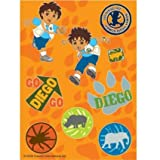 Stickers Go Diego Go for Party Favour Favor