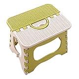 stool Klapphocker, Kunststoff, Tragbare Klappstuhl, Badezimmerhocker, Hause Mazar, Mini-Hocker Green 18 * 24.5 * 19.5cm
