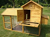 LARGE 7FT COCOON CHICKEN COOP HEN HOUSE POULTRY ARK NEST BOX NEW - NOW WITH 4FT HEIGHT AND 3FT DEPTH AND SECURE NEST BOX FLOOR - ONLY SOLD BY SELLER 'COCOON' ON AMAZON NOW WITH OPENING ROOF FOR EASY CLEANING (NO SHIPING TO NORTHERN IRELAND, ISLANDS, SCOTTISH HIGHLANDS) ONLY BY COCOON