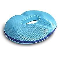 Preisvergleich für Yeying123 Pure Memory Foam Luxus Sitzkissen, Orthopädische Design zur Linderung Von Ischias, Steißbein und Steißbein Schmerzen