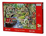 Big 250 Piece Jigsaw Puzzle - Taking it Easy