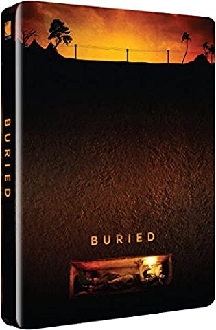 Buried -2014 Uk Exclusive Limited Edition Steelbook Ultra Limited Print Run Blu-ray 2000 only printed