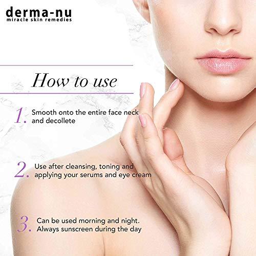 Retinol Serum 2,5% mit Hyaluronsäure Serum & Vitamin E von Derma-nu – beste Antialterung Serum für feine Linien und Fältchen – klinisch bewährte Haut Behandlung für das Gesicht – Garantiert 100% – 1,25oz Flasche - 3
