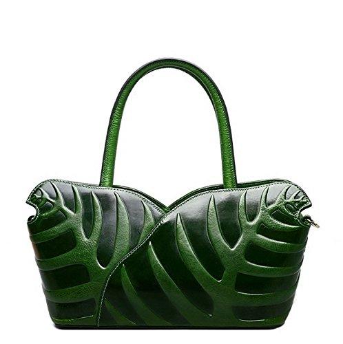 Jsix, Borsa a secchiello donna Green