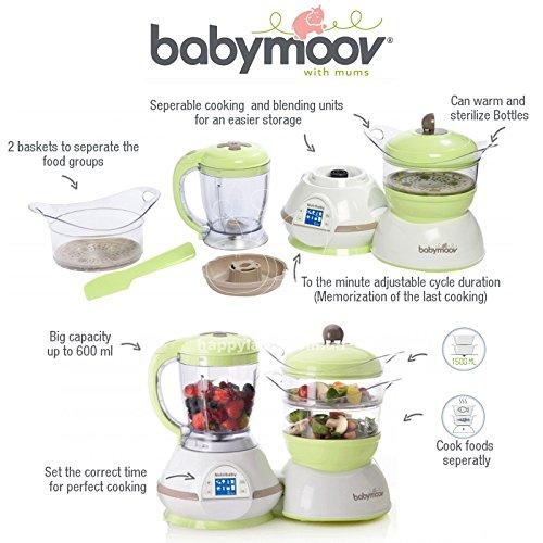 Babymoov Nutribaby Classic Babynahrungszubereiter - Farbe: Cream (IMPORT UK) - 5