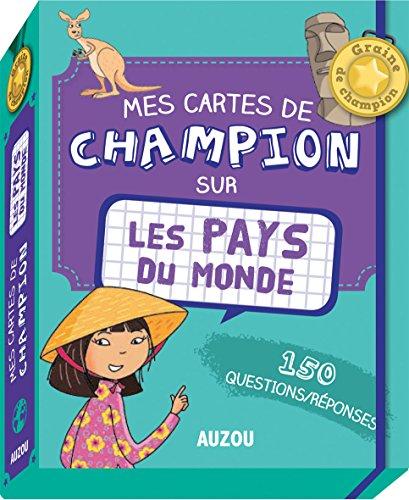 Mes cartes de champion - Les pays du monde par Adèle Pedrola