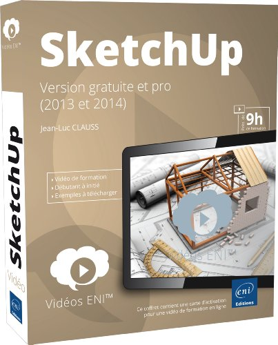 SketchUp - version gratuite et pro (2013 et 2014)