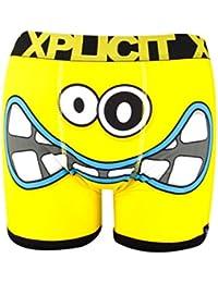 New Xplicit Mens Designer Novelty Rude Boxer Trunks Funny Shorts Underwear pants