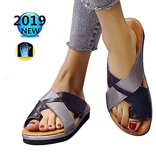 9bd636f29d353 Comfy Platform Sandalo Shoes 2019 New Women Sandali da Viaggio,per Alluce  Valgo del Piede Imbottito per Alleviare Il Dolore Disponibile in Una ...