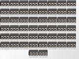 50 x Printklemmen Anschlussklemmen 3 polig anreihbar 5,08mm Art: 10155.4