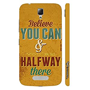 Lenovo A2010 True Believer designer mobile hard shell case by Enthopia