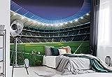 Fußball Stadion Sport Fototapete Wandbild Fototapeten Bild Tapete VLIES (EasyInstall) (1914WS)