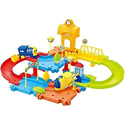 Saffire Block Train Set, Multi Color, 30 Pieces