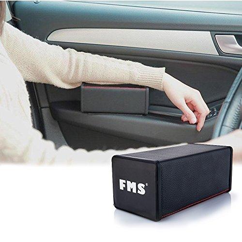 FMS bracciolo universale auto Ridurre l'affaticamento del braccio Console bracciolo (Nero)