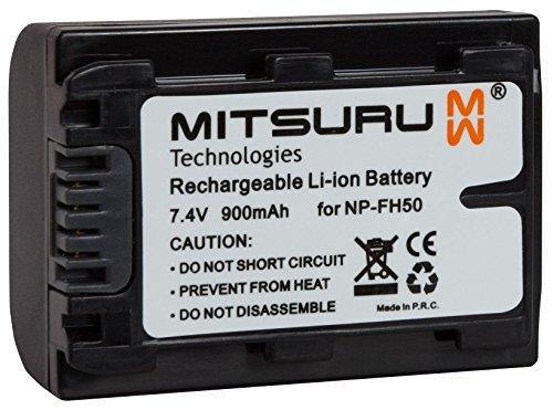 Mitsuru 7 Wh 7.4 V Original Akku für Sony Camcorder DCR-HC17E DCR-HC18E. Ersetzt: NP-FH50