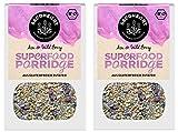 Seedheart Bio Superfood Porridge 550gr Acai Wild Berry ohne Hafer | Glutenfrei | Kein Getreide | Ohne Zucker | Buchweizen Lupinen Hirse Amaranth Quinoa