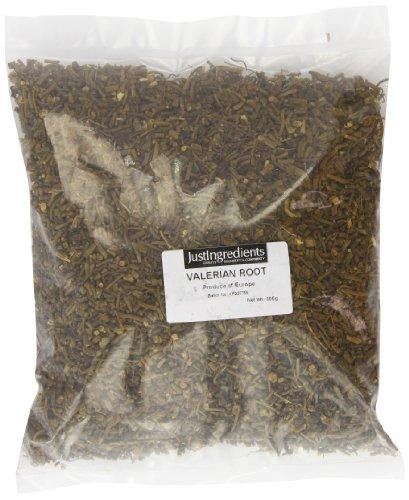 JustIngredients Echter Baldrian Wurzel, Valerian Root, 1er Pack (1 x 500 g)