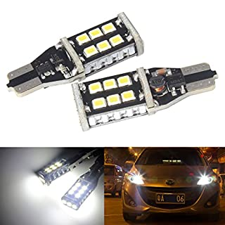 ANG RONG® 2x 955 921 T15 168 W16W 15 LED Bulb Interior Reverse Tail Side Light DRL Canbus