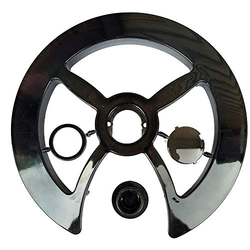 LIJUMN Fahrrad-Universal-Kettenradabdeckung Kettenschutz Kettenschutzring Fahrrad Kettenblatt Kettenschutz Kettenrad-Schutzhülle