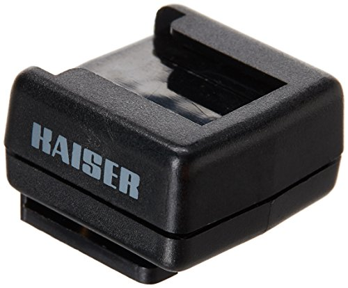 kaiser-flash-shoe-adapter-with-hot-flash-shoe