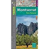 Montserrat Parc Natural, mapa y guía excursionistas. Escala 1 ...
