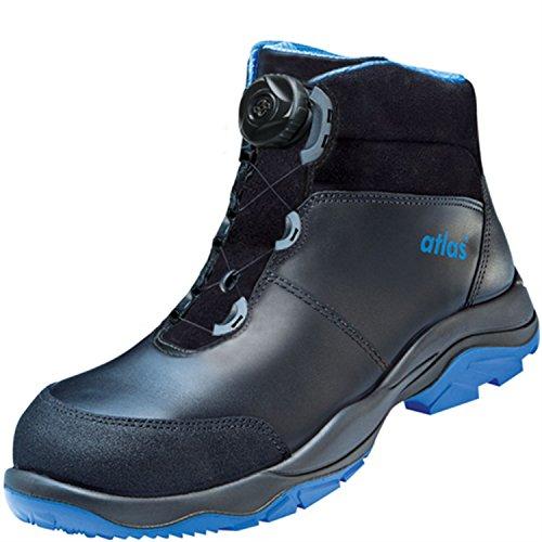 ESD Chaussures de sécurité SL 9845XP Boa Blue Large dans 10après en ISO 20345S3SRC de Atlas Schwarz