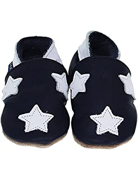 Inch Blue Krabbelschuhe Stardom Navy/White collar, Medium