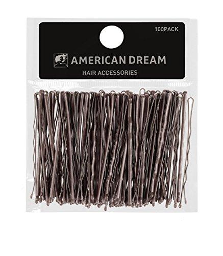 american-dream-fermagli-per-capelli-dal-design-ondulato-colore-castano-635-cm-100-pz