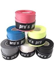 Pro's Pro - Conjunto de 10 puños Grips Grip - color negro