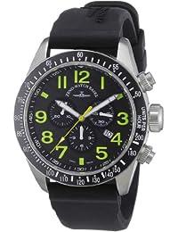 Zeno Watch Basel Herren-Armbanduhr XL Quarz Analog Kautschuk 6497-5030Q-s18