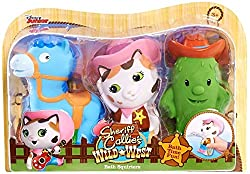 Disney Sheriff Callie Bath Squirters 3-pack