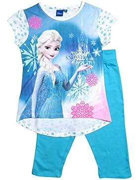 Frozen - Die Eiskönigin T-Shirt und Leggings Kollektion 2017 Öko-Tex Standard 100 Set 98 104 110 116 122 128 Mädchen...