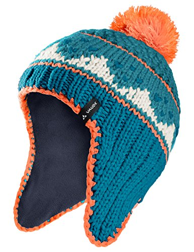 Vaude Kinder Knitted Cap IV Accessories, Pacific, S