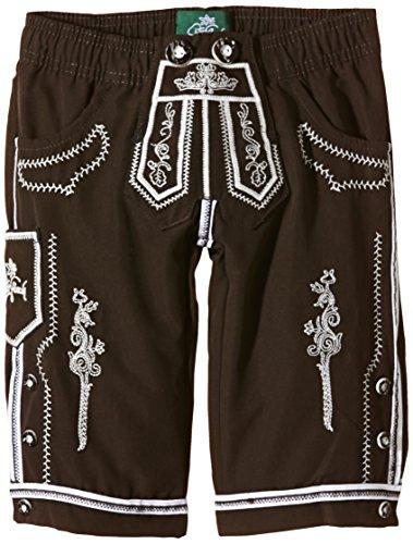 La orginale pantaloni in pelle da spiaggia Peter Goach costume da bagno da bambino, marrone colore vaniglia, 104, 3104