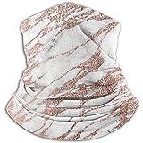 Scaldacollo invernale in pietra di roccia in oro rosa Ghette scaldacollo Fascia per capelli Freddo Tubo Maschera per il viso Sciarpa termica per collo Protezione UV esterna