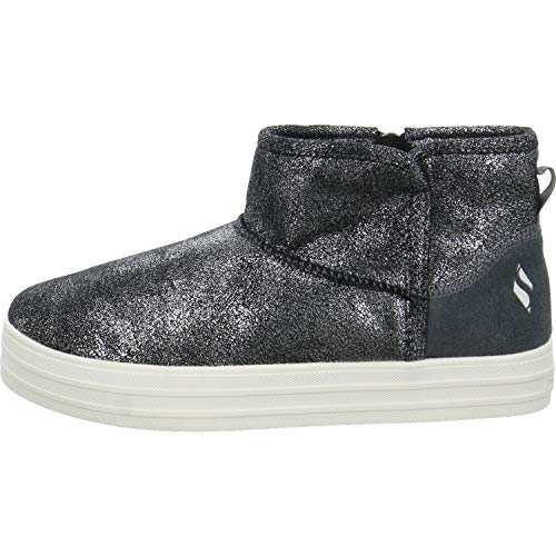 Skechers Boots Double UP WARM Shine Größe 39 Grau (Grau) (Warm-up-boots)