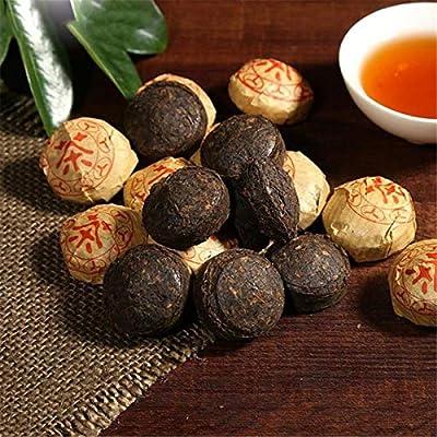 250g (0.55LB) Thé Pu Erh mûr Ancien thé Puer Mini Cakes Yunnan Cuit Puer Thé Noir Thé Cuit Pu-erh Thé Pu Erh Thé Chinois Thé Sain Puerh Thé Rouge Thé Vert Bon Bon Shu cha