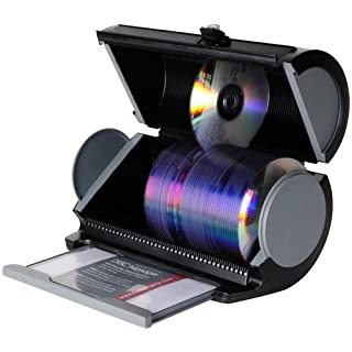 Atlantic Disc Manager - CD-Hüllen (Schwarz, Grau, Kunststoff)