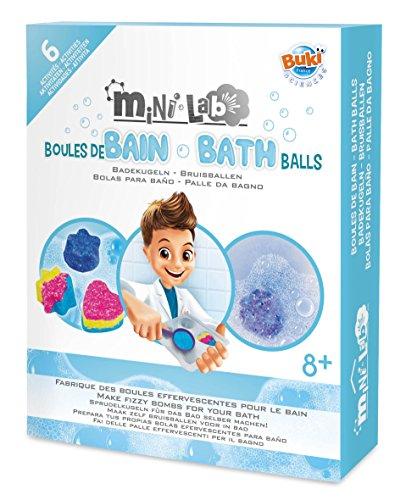 BUKI France 3010 Mini Lab - Badekugeln (Seife Französisch-geschenk-set)