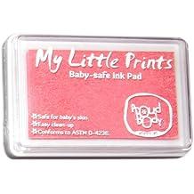 Almohadilla de tinta rosa segura para el bebé Mis pequeñas impresiones de Proudbody