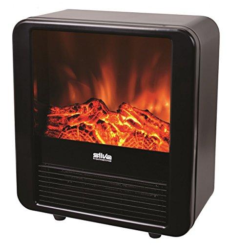 Silva Homeline  FP-H 085 Elektro-Kamin 900/1.800 Watt Flammeneffekt Dekoration Heizgerät Ofen Heizung