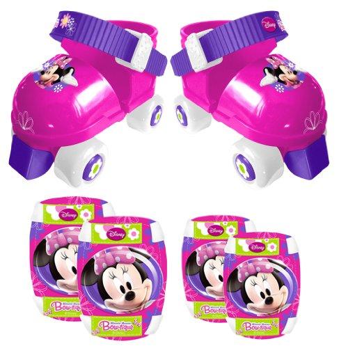 Stamp J100035 - Set de patines y protecciones, diseño Minnie Mouse