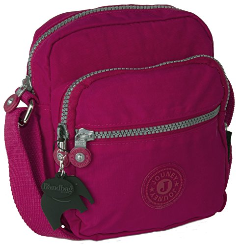 Big Handbag Shop - Borsa a tracolla unisex Hot Pink