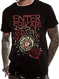 CID Enter Shikari 956T-Shirt Homme Noir FR: S (Manufacturer's Size: S)