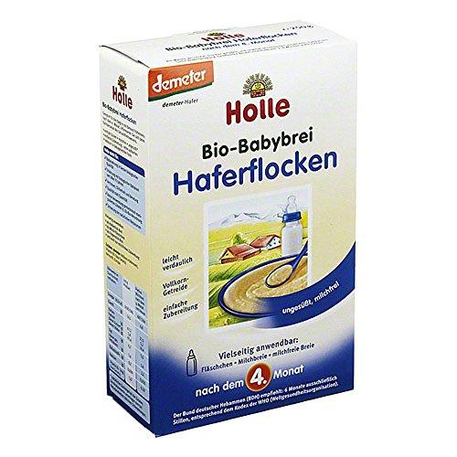 HOLLE Bio Babybrei Haferflocken 250 g Brei