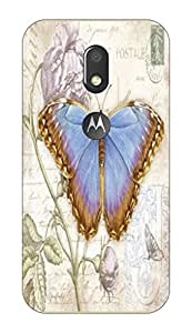 Go Hooked Designer Moto E3 Power Designer Back Cover | Moto E3 Power Printed Back Cover | Printed Soft Silicone Back Cover for Moto E3 Power
