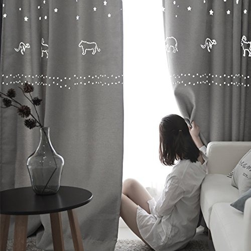 stelle-vuote-blackout-ombra-tenda-camera-camera-bambini-da-letto-soggiorno-teli-a-350x270cm138x106in