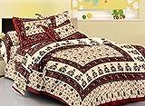 shop jaipuri cotton rajasthani single be...