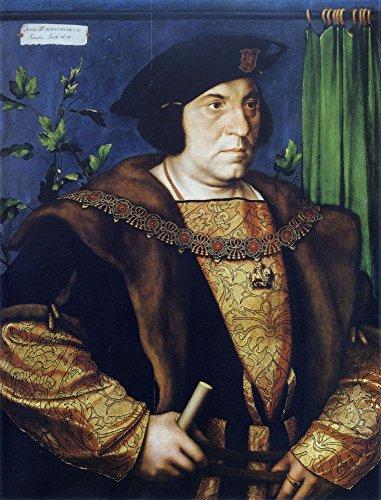 Das Museum Outlet-Portrait Of Sir Henry Guildenford. 1527, gespannte Leinwand Galerie verpackt. 50,8x 71,1cm